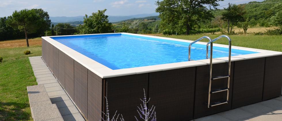 Vendita costruzione realizzazione piscine fuoriterra - Accessori piscina fuori terra ...