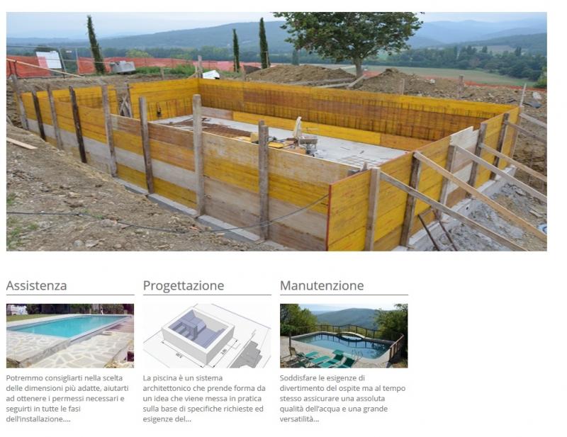Costruzione realizzazione piscine perugia costruzione for Laghetti prefabbricati